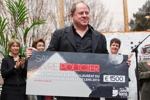 Frédérick Rapilly, lauréat 2013 du prix littéraire de la ville de Lens
